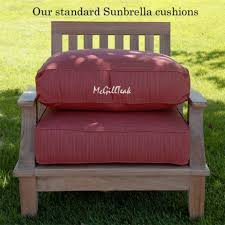 deep seating cushions sunbrella lounge cushion double chaise outdoor pillow medium size