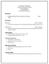 scholarship templates sample resume format for college applications admission template