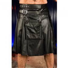 club leather kilt for men