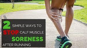 calf soreness after racing