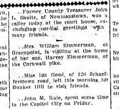 Priscilla Zimmerman & son Harvey 1911 - Newspapers.com