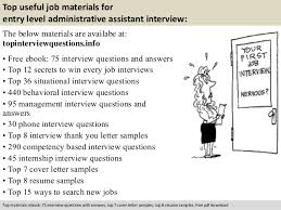 Interview Questions And Answers For Office Assistant Homework Assistant Interview Questions Best Writing Essay