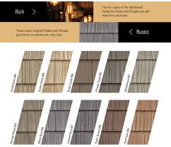Mid America Color Chart Color Program Foundry Specialty Siding