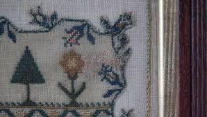antique samplers and needlework madelena