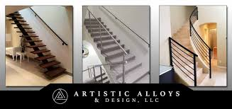 Wrought iron stair railing Diy Stair Railings In The Phoenix Valley Including Scottsdale Tempe Mesa Chandler And Paradise Valley We Fabricate Stair Railings In Wrought Iron Tuckrbox Metal Stair Railings Arizona Wrought Iron Stainless Steel Copper