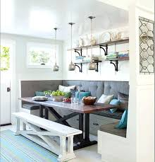kitchen nook lighting. Kitchen Nook Ideas Breakfast With Storage Bench Lighting A