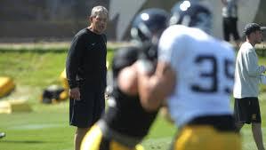 Iowa Hawkeyes 2013 Football Depth Chart Several Freshmen In Key Spots On Iowas Depth Chart