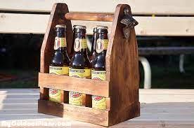 diy beer caddy myoutdoorplans free