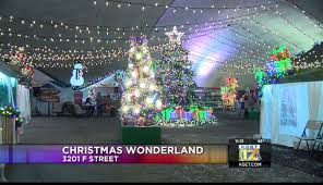 Christmas Light Show In Bakersfield Ca Christmas Wonderland Opens Friday In Downtown Bakersfield