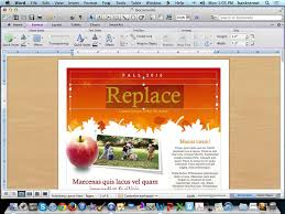Newsletter Templates In Word Create A Newsletter Using Microsoft Word Templates YouTube 11