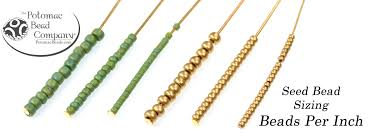 Seed Bead Size Chart Seed Bead Sizing In The 21st Century Potomacbeads Blog