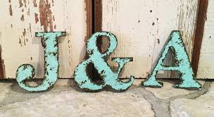 rustic letter 9 5 tall name personalize ampersand cottage country style home decor shabby chic joanna gaines alphabet photo prop wedding
