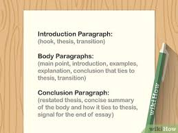 how to write an essay with pictures