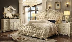 Bedroom Set Gold Tufted Headboard Royal Luxostart Cal King Eat King ...