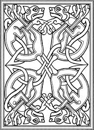 Book Of Kells Coloring Pages Bing
