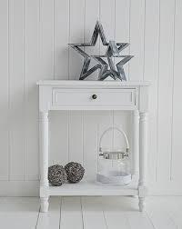hall table white. Cove Bay White Hall Furniture For Coastal Interio Design Table W