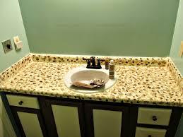 diy faux granite countertops paint countertop painting corian rustoleum look like portrayal delux bathroom design fabulous