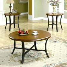 coffee table sets 3 piece end table set round coffee and end table sets 3 piece