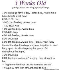 3 Week Old Baby Sleep Patterns