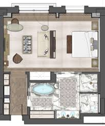 Deluxe Design The St Regis Astana Deluxe Room 68sqm Hotel Room Design