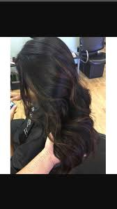 Black Hair With Highlights