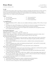 Network Test Engineer Sample Resume 3 2 Rf Systems