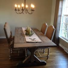 farmhouse rustic dining table. rustic dining room tables custommade farmhouse table d