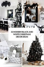 black white style modern bedroom silver. 32 Modern Black And White Christmas Decor Ideas Digsdigs Style Bedroom Silver