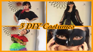 3 diy costume ideas 50 s masquerade toddlers and tiaras loofah you