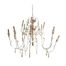 french wooden chandelier new design french vintage