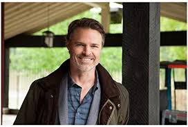 Cedar Cove Dylan Neal as Jack Griffith Smiling Against Post 8 x 10 inch  Photo at Amazon's Entertainment Collectibles Store
