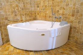 the bathroom features a large jacuzzi tub