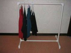 Pvc Pipe Coat Rack DIY PVC Pipe Portable Clothes Rack Crafts And Projects Pinterest 19