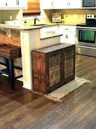 wooden trash can wooden trash can wooden kitchen trash cans or kitchen cabinet trash bin wooden