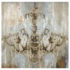 chandelier canvas painting vintage led lighted art chandeliers canvases and wall chandelier canvas painting wall art