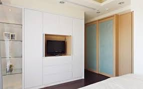bedroom wall units with wardrobe for small room photo - 3