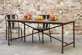 industrial kitchen table furniture. grenelle dining table industrial kitchen furniture t