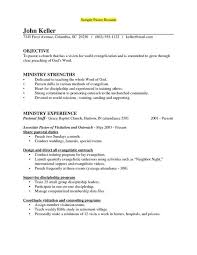 Pastor Resume Templates Best of Ministry Resume Templates Classy Pastoral Resume Template Pastoral