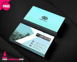 Office Visiting Card Free Office Business Card Template Freedownloadpsd Com