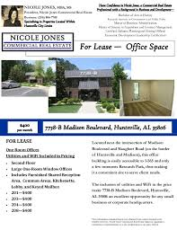 madison office common area. For Lease \u2014 Office Space Have Confidence In Nicole Jones, A Commercial Real Estate Professional Madison Common Area N