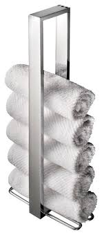 Towel holder Umbra Tug Ws Bath Collections Skuara Vertical Towel Holder Houzz Ws Bath Collections Skuara Vertical Towel Holder Contemporary
