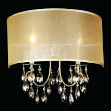 brushed nickel crystal chandelier light