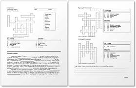 Microsoft Word Vocabulary Eclipsecrossword Com Sample Worksheet