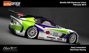 Ginetta Design Privateer Ginetta G55 Livery On Behance