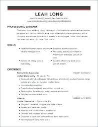 Qualifications Cv Sample Resume Skill List Job Skills Resumes