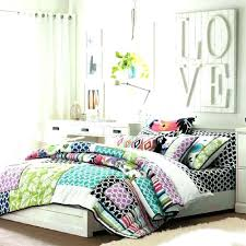 teenage bed comforter sets bedding bedroom space tw on outstanding bright pom quilt pottery barn kids