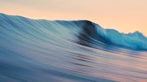 ocean waves foam relaxing