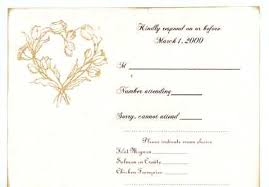 How To Reply To A Wedding Invitation Wedding Invitation Response
