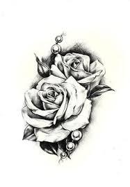 Small Picture Resultado de imagen para three black and grey roses drawing tattoo