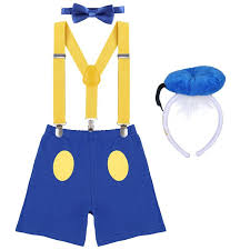Online Shop <b>4pcs Set Baby Boy Girl</b> Clothes Suspenders Bloomers ...